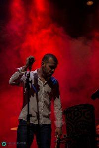 Kariel em show. Fotos: Rodrigo Ricordi