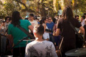 Na Vila Gastronômica também acontece eventos culturais. Foto: Atílio Alencar